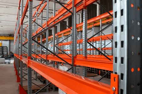 Виды складских стеллажей